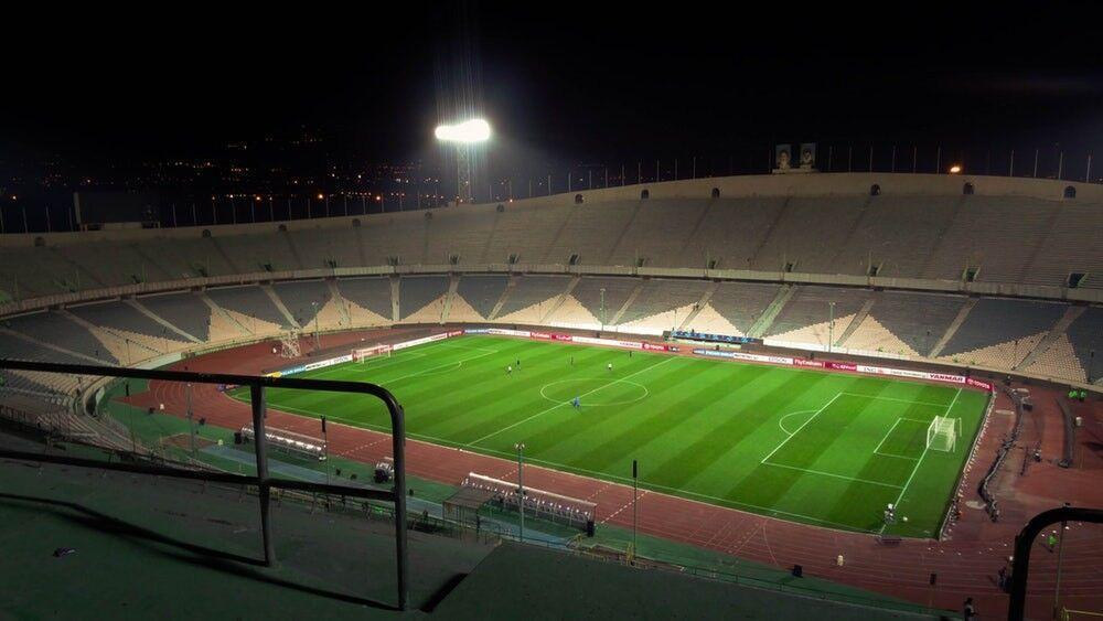 خبرنگاران استادیوم آزادی برترین مجموعه ورزشی منطقه آسیای مرکزی و جنوبی از نگاه AFC