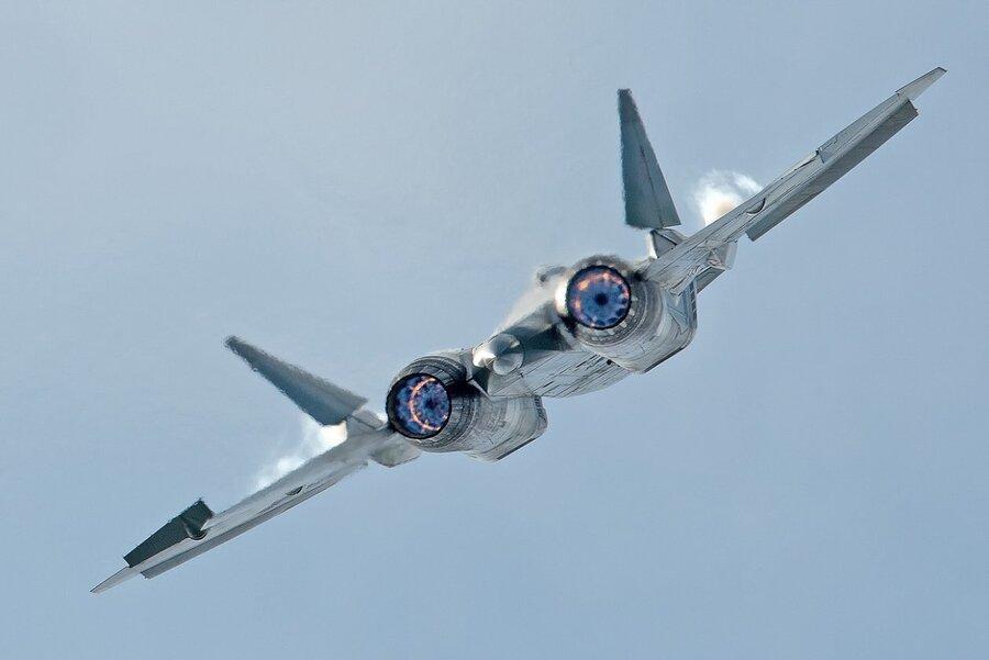 سوخو 57 رادارگریز برای فروش در نمایشگاه نظامی 2020 مسکو
