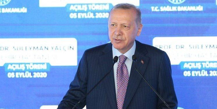 اردوغان: قدرت پاره کردن همه نقشه ها را داریم