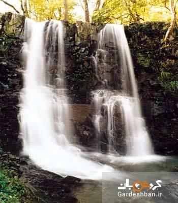 آبشار لونک؛ طبیعت زیبای گیلان، عکس