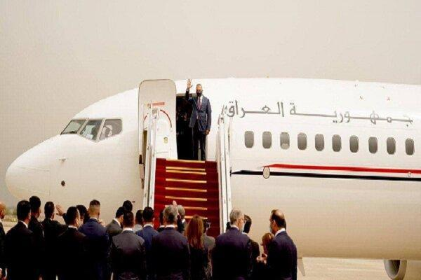 نخست وزیر عراق برای مصاحبه با مقامات سعودی وارد عربستان شد